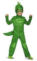 Gekko Classic Toddler PJ Masks Costume, Medium/3T-4T - $48.78