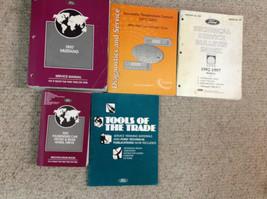1997 Ford Mustang Gt Cobra Service Shop Manual Set W SPECS & BULLETINS B... - $148.45