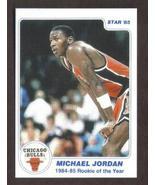 MICHAEL JORDAN Rookie Card RP #1 ROY '84-'85 Bulls RC 1985 S Free Shipping - $2.95