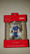 Hallmark ornament marvel avengers captain america new in box stocking st... - $20.95