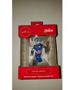 Hallmark ornament marvel avengers captain america new in box stocking st... - $20.95