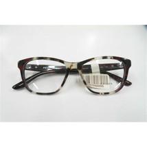PRADA PR04TV Womens Spotted Brown/Red Full Rim Acetate Eyeglass Frames 5... - $78.71