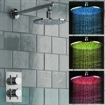 Fontana Round LED Thermostatic Mixer Shower Set - $499.00