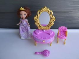 2012 Mattel Sofia the First Toys Royal Vanity Princess Playset  - $10.21