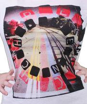 Bench UK Damen Hartford Creme Grafik Mode T-Shirt BLGA2368 Nwt image 4