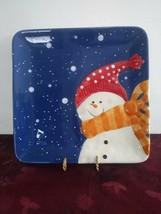 "St. Nicholas Square Snow Days Plate 9"" - $18.69"