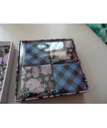 VERA BRADLEY Alpine Floral Gift Soap ~ Boxed Set 4 Bars ~ MSRP $38 - $18.00