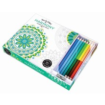 Coloring Book Adult, Harmony Set For Women Men Relax Adult Coloring Book - $17.39