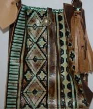 Rustic Kaos Crossbody Purse Aztec Print Adjustable Strap image 2