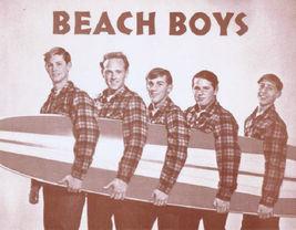 Beach Boys Surf Brian Wilson WB Vintage 8X10 Sepia Music Memorabilia Photo - $4.99