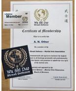 Martial Arts  - Wu Shi Dao  Street Defence Membership  KARATE MMA JKD WI... - $23.36