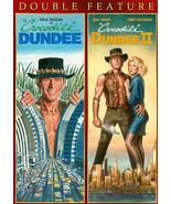 Crocodile Dundee & Crocodile Dundee II  (DVD ) Double Feature - $7.98