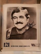 "2 Vintage James Doohan Aka ""Scotty"" Star Trek Signed Publicity Photos - $49.50"