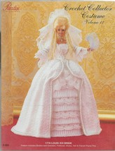 Crochet Collector Costume Vol. 12-1778 Louis XVI Bride-Bodice-Overskirt-... - $9.46
