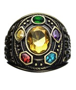 Marvel Avengers Infinity War Gauntlet Class of Infinity Power Ring Thano... - $114.89