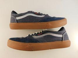 Vans Gilbert Crockett PRO Denim Suede Size 8.5 Men's Skateboard Shoe image 5