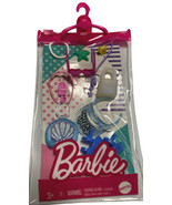 Barbie Fashion Pack Make A Splash Accessories Sandals Visor Bags Jewelry... - $9.89