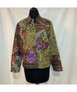 Art to Wear Mixed Media Boho Hippie Jacket PS - $38.00