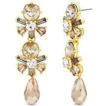 Catherine Malandrino Women's Multi-Colored Peach Cluster Yellow Gold-Ton... - $20.21