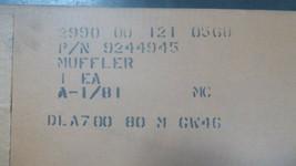 GM / Nelson 9244945 Exhaust Muffler A-1/81 New image 2