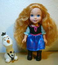 """Disney Frozen Little Anna Doll 6"""" with OLAF 3"""" - $21.78"""