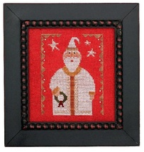 Wee One: Santa 2017 cross stitch chart Heart in Hand - $7.65