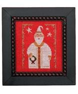 Wee One: Santa 2017 cross stitch chart Heart in Hand - $7.65
