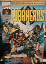 "MARVEL COMICS-""WARHEADS"" #1-STARRING WOLVERINE-DATED:JUNE 1992 - $1.49"