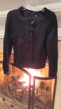 Theory Navy Blue Cardigan Sweater Sz Medium - $42.57