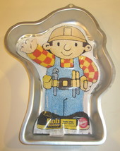 Vintage Bob the Builder Cake Pan by Wilton  With Instructions - $9.89