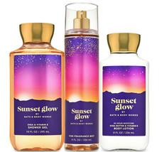 Bath & Body Works Sunset Glow Trio Gift Set  - $45.95