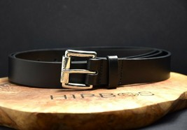 Michael Kors Womens Leather Belt Black Size M - $38.28