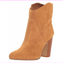 Vince Camuto Creestal Suede Ankle Boots Creamy Car, Size 10 M - £36.20 GBP