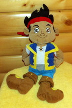 "Disney Neverland Pirates Jake Plush 22"" Boy Ready for Soft Play Adventure - $8.59"