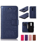 For Nokia 7.2 1Plus 7.1 3.1Plus 2.1 5.1 6.1 Elephant Pattern Leather Wal... - $60.45