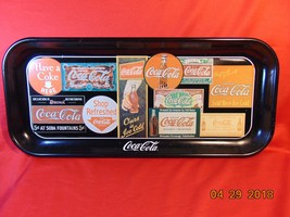 "1995 Coca Cola, Metal Serving Tray. ""Sign Art Through The Years"". - $7.99"
