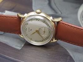 ELGIN SHOCKMASTER VINTAGE CLASSIC HAND WIND WATCH DURAPOWER - $154.28