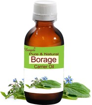 Borage Oil- Pure & Natural Carrier Oil- 50ml Borago officinalis by Bangota - $26.78