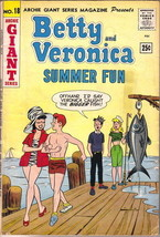 Betty and Veronica Summer Fun Comic Book #18 Archie Giant Series 1962 VE... - $40.55