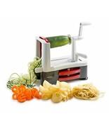 Westmark Stainless Steel Tri-Blade Vegetable Spiral Slicer Spiralizer - £39.77 GBP