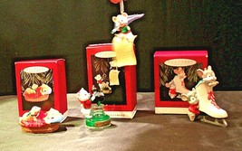 Hallmark Handcrafted Ornaments AA-191771E Collectible  ( 2 pieces ) - $49.95