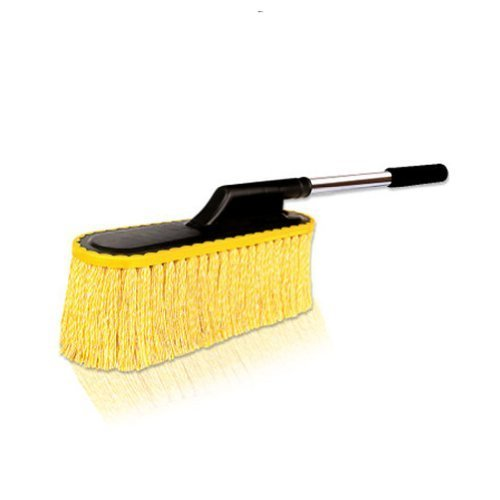 Cleaning Supplies Purified Cotton Car Duster/Dust brush,YELLOW