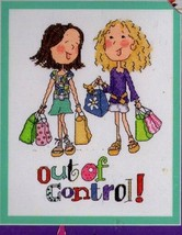 Bucilla Counted Cross Stitch Kit So Girly Out of Control Shopping Cute D... - $13.36
