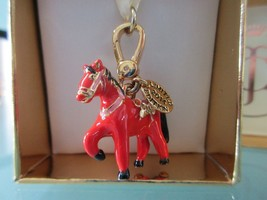 New Juicy Couture Red Horse Charm Merry Go Round - Chinese Year of the H... - $49.50
