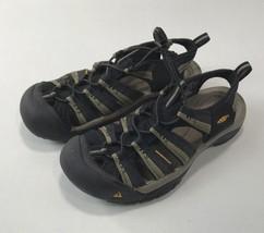 Keen Newport H2 Size US 8.5 (D) EU 41 Men's Sport Sandals Shoes Black / Tan - $65.71 CAD