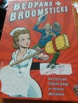 Bedpans & Broomsticks Board Game Mayfair Games Complete Unpunched Escape... - $15.00