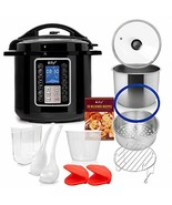 Deco Chef 6 QT 10-in-1 Pressure Cooker Instant Rice, Saut233, Slow Cook,... - $73.99