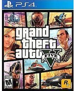 PS4 Grand Theft Auto V 5 Five Sony PlayStation 4 2014 New Factory Sealed... - $31.99