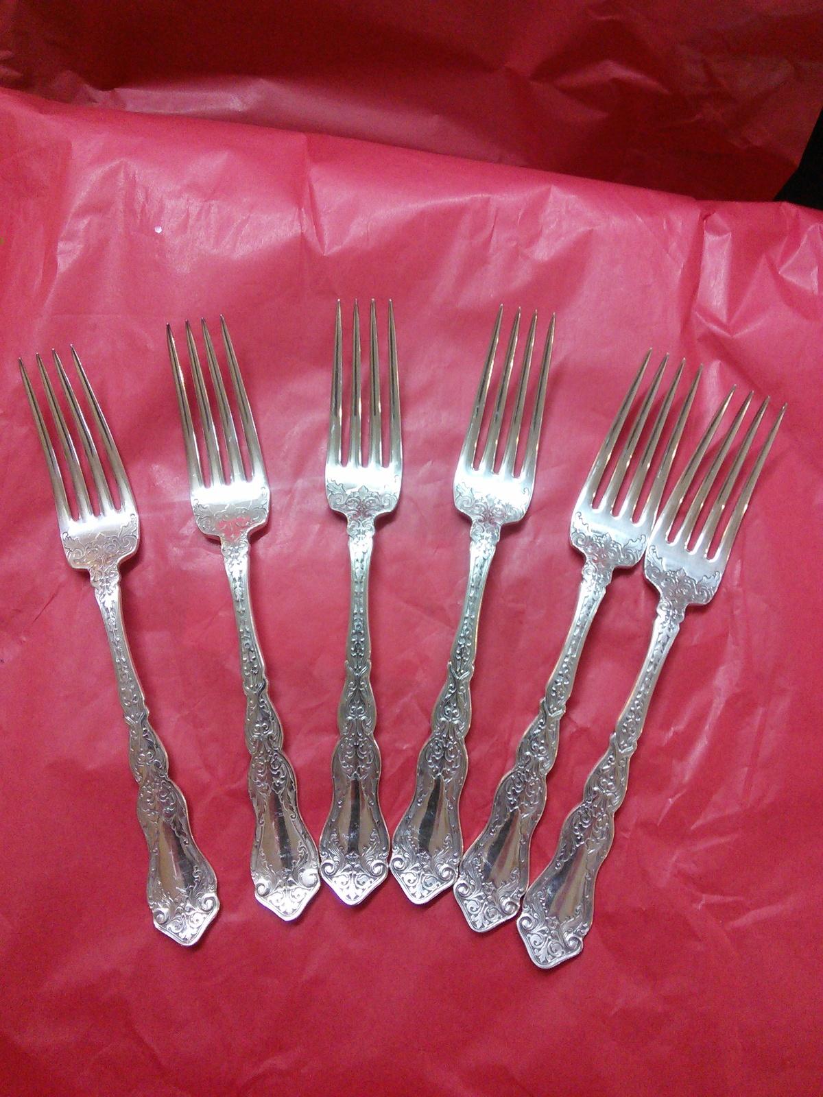 Rogers Alhambra Dinner Forks 1907 - $60.00