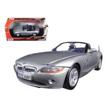 BMW Z4 Silver 1/24 Diecast Model Car by Motormax 73269s - $29.91